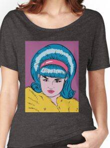 Miss Lacey Noel Design No. 1! (Bouffant) Women's Relaxed Fit T-Shirt