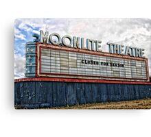 Moonlite Theatre Canvas Print