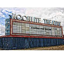 Moonlite Theatre Photographic Print