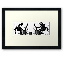 First Person Shooter Framed Print