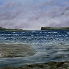 Kilkee Beach, County Clare by Avril Brand