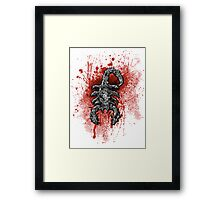 Just Cause - Scorpion Framed Print