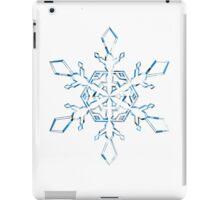 Light Blue Snowflake iPad Case/Skin