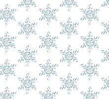 Light Blue Snowflake by Bang-Bang-Oh