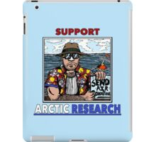 Support Arctic Research: Send Air Conditioners! iPad Case/Skin