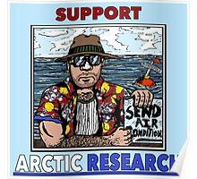 Support Arctic Research: Send Air Conditioners! Poster