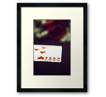 Love Trick Framed Print