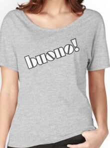 Buono! - White w/ Outline Women's Relaxed Fit T-Shirt