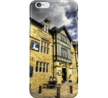 White Hart at Todmorden  iPhone Case/Skin