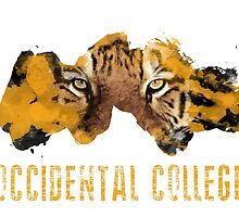 Occidental College Tigers by alfishie