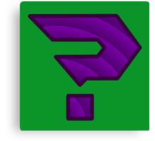 MizNygma Logo Canvas Print