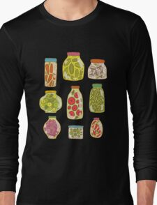 Autumn pickled vegetables Long Sleeve T-Shirt
