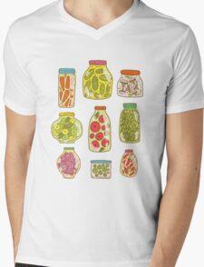 Autumn pickled vegetables Mens V-Neck T-Shirt