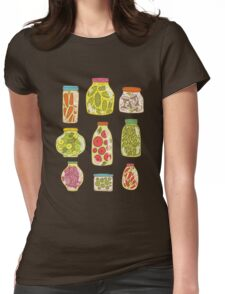 Autumn pickled vegetables Womens Fitted T-Shirt