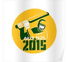 Cricket 2015 Australia New Zealand Poster