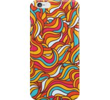 abstract Hair pattern  iPhone Case/Skin