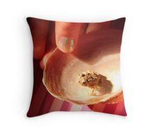 Shell Captivity. Throw Pillow
