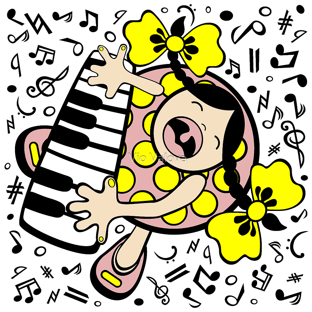 piano baby by VioDeSign