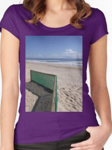 Beach Fence Women's Fitted Scoop T-Shirt