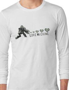Sangheili Officer Love Machine Long Sleeve T-Shirt