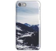 Colorado Mountains iPhone Case/Skin