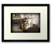 Bubble Falls Framed Print