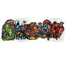 Marvel Avengers Assamble Poster