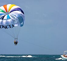 Parasailing by David Chappell