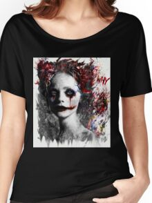Harley Quinns valentines day Women's Relaxed Fit T-Shirt