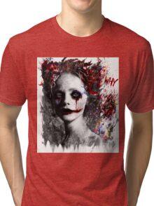 Harley Quinns valentines day Tri-blend T-Shirt
