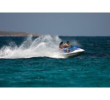 Caribbean Jet Ski 1 Photographic Print