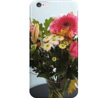 Fuchsia, White & Teal With Love iPhone Case/Skin
