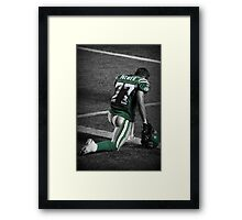 Take A Knee Framed Print