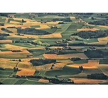 Bavarian Fields Forever Photographic Print