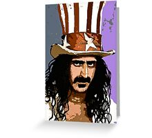Zappa:  Ready To Rock Greeting Card