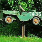 Old Jeep Mailbox by Penny Smith