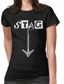 STAG Womens Fitted T-Shirt