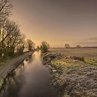 Battens Bridge Frost  by Rob Hawkins