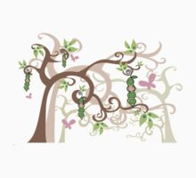 Magic Trees and Baby Girls in a Pod T-shirt by fatfatin