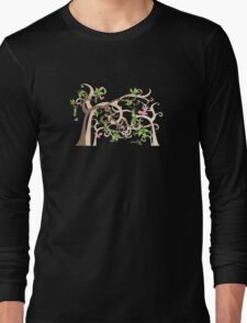 Magic Trees and Baby Girls in a Pod Long Sleeve T-Shirt