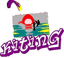 Kite Surfing by Grobie