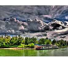 River Queen Photographic Print