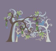 Magic Trees and Baby Boy in a Pod Kids Tee