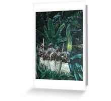 Island Men Greeting Card