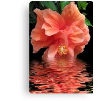Tropical Reflection Canvas Print