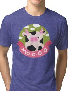 cow and milk Tri-blend T-Shirt