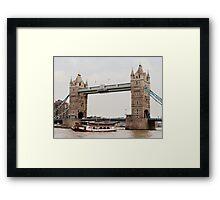 London's Number One Bridge Framed Print