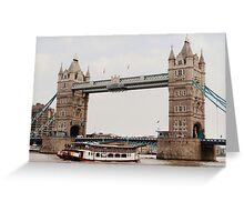 London's Number One Bridge Greeting Card
