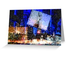 New York Haze Greeting Card