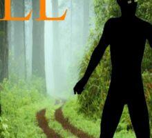 Howard Hill e-book cover Sticker